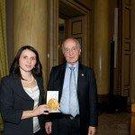 La dott.ssa Sofia Francia, riceve il Premio Galeno per la ricerca clinica